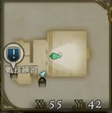 鍛錬の小部屋map