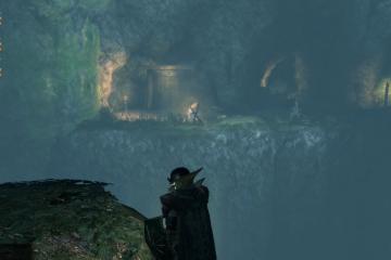 第2区画:洞窟